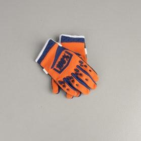 Rękawice Cross 100% Airmatic Dziecięce Pomarańczowo-Granatowo-Niebieskie