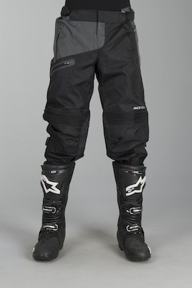 Acerbis One Baggy Enduro-Trousers Black-Grey