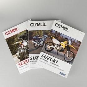 Manuál Clymer Suzuki