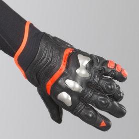 Rękawice Dainese X-Strike Czarno-Czerwone
