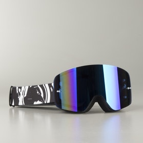 "Raven Edge ""Charge"" MX Goggles Blue Mirror"