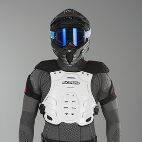 Acerbis Robot Chest Protector White