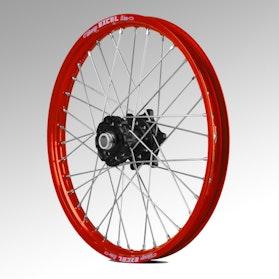 Talon Front Wheel Black-Red