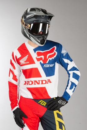 Fox 180 Honda MX Jersey Red MX 18