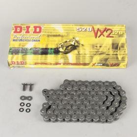 Łańcuch D.I.D 520VX2 X-Ring Nity