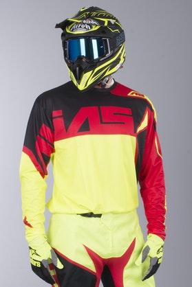 Alias A2 Burst MX Jersey Neon Yellow-Red