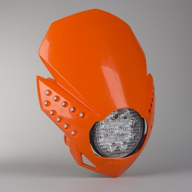 Acerbis LED Fulmine Front Lamp Orange