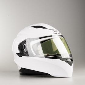 Kask Integralny AXO RS01 Mono Biały