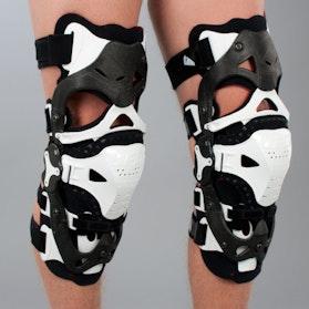 Ochraniacze kolan Ufo Morpho białe