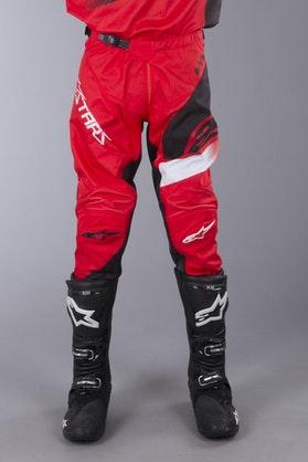 Komplet Cross Alpinestars Racer Supermatic Czerwono-Czarno-Biały