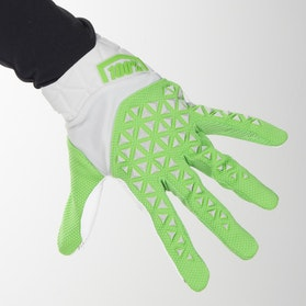 100% Airmatic MX-Gloves Silver-Lime-Fluo