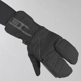 Rękawice IXS 3-Finger Winter Czarne