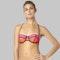 Fox Capture Balconet Bikini Top Fluo Orange