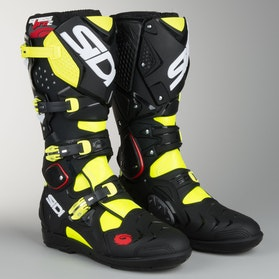 Cross støvler Sidi Crossfire 2 SRS Gul-Fluo-Sort