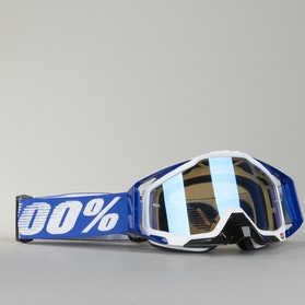 100% Racecraft Cobalt Goggles Blue