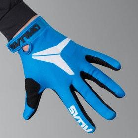 Alias AKA Solid Motocross Gloves Blue