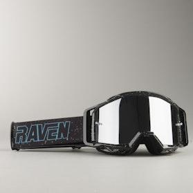 Gogle Cross Raven Sniper Deep Space Czarne Lustrzane