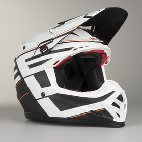 Kask cross Bell Moto-9 Flex Blocked Czarny