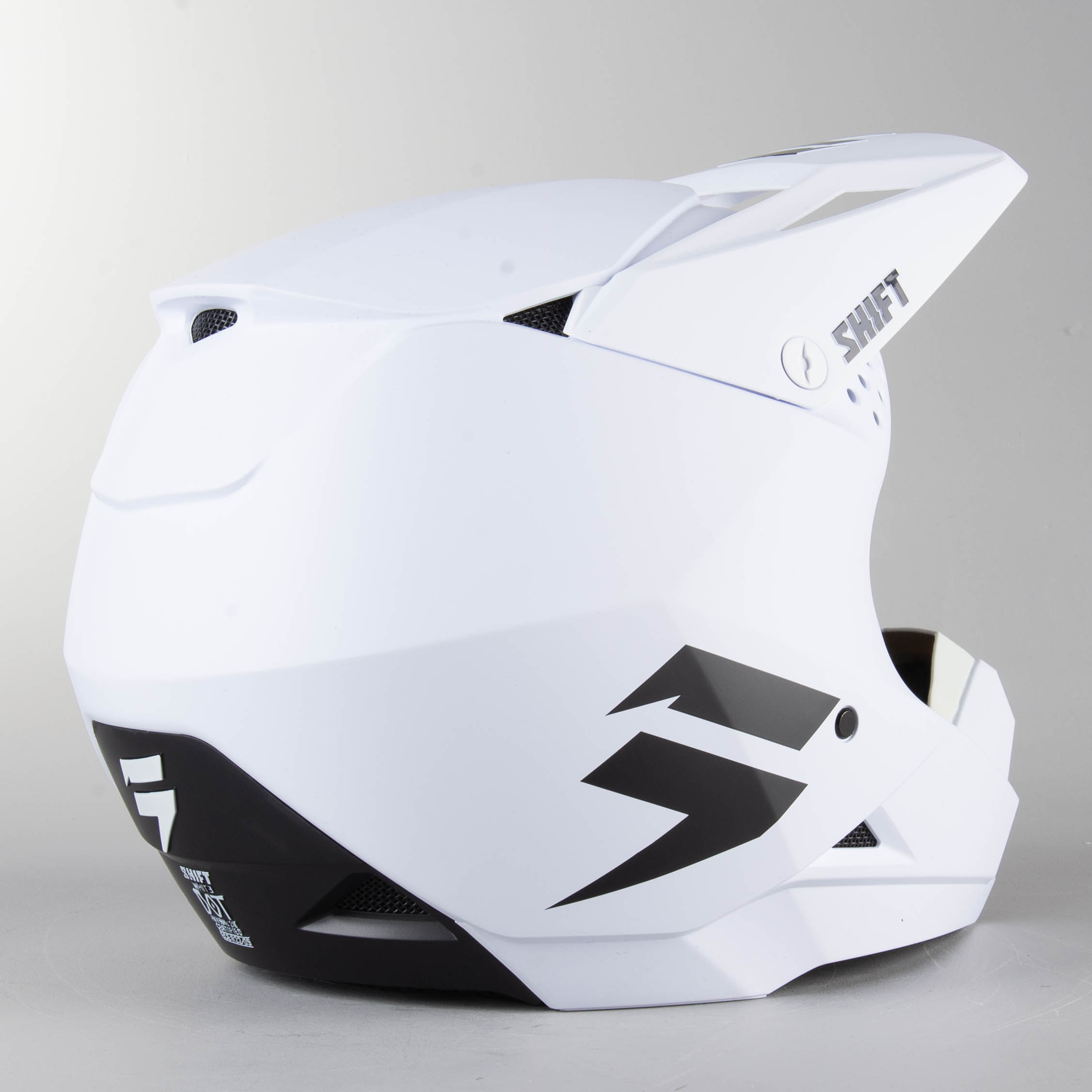 Shift White//Whit3 Label Replacement Visor Orange//Black