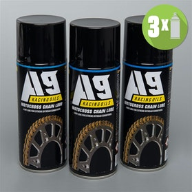 3-Pack A9 Motocross Chain lube