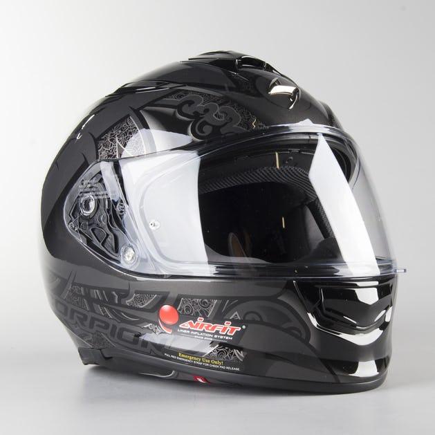 running shoes new high hot sales Scorpion EXO-510 Air Arabesc Full Face Helmet Black - Get 40% off ...