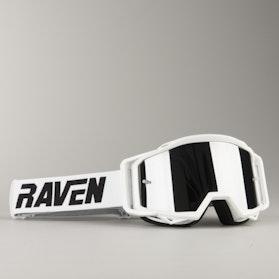 Gogle Cross Raven Sniper Crew Biało-Srebrno Lustrzane