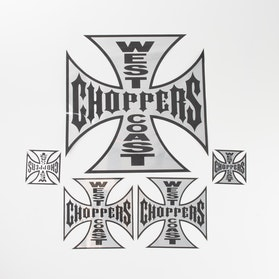 Naklejka West Coast Choppers Metal