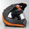 Kask Cross Bell MX-9 Mips Switchback Adventure Czarno-Pomarańczowy