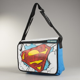 AXO Superman Shoulder Bag Blue-White