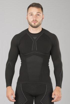 Funkční Tričko s Dlouhým Rukávem Dainese D-Core Dry LS Černo-Šedé
