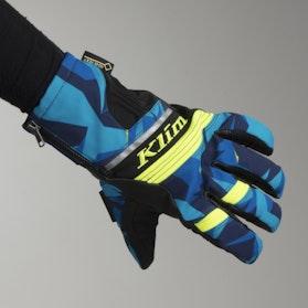 Rękawice Klim Powercross Camo-Niebieskie
