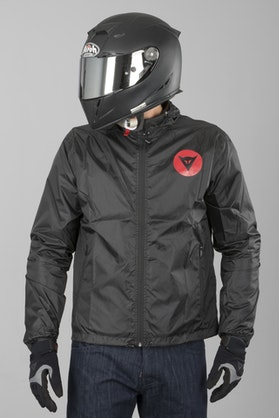 Dainese D-Light Shell Jacket Black-Red
