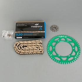 MX Twenty Delta 520 X-Ring Chain and Sprocket Kit