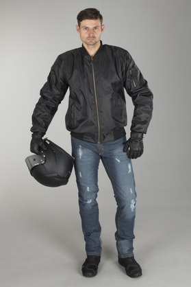 Course Full Aramid® Bomber Jacket - Black + Ripped Aramid® Jeans
