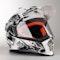 Adventure Helma LS2 MX436 Pioneer Chaos Bílo-Černá
