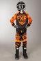 Bluza Cross FXR Clutch Retro Dziecięca Czarno-Pomarańczowa