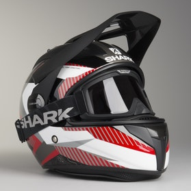 Kask adventure Shark Explore-R Peka Czarny