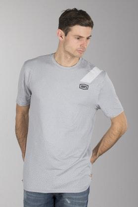 T-Shirt 100% Slant Tech Srebrny-Heather