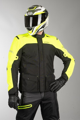 Acerbis Discovery Forest Jacket Black-Fluo Yellow