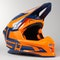 Acerbis Profile 4 MX Helmet Orange-Blue