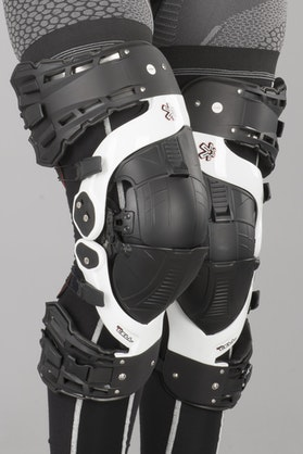 Asterisk Ultra Cell Knee Protection - White