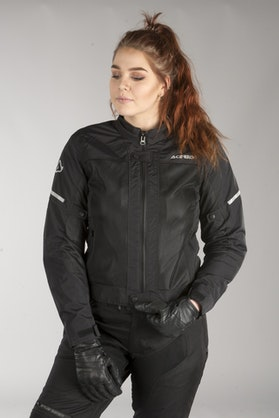 Acerbis Ramsey Vented Women's Jacket Black