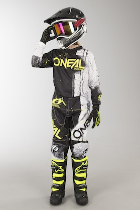O'Neal Element Shred Kid's MX Clothes Black