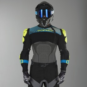 Acerbis Cosmo 2.0 Protective Vest Yellow & Blue