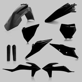 Komplet Plastików Acerbis Czarny