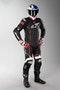 Kožená Kombinéza Alpinestars GP Plus V2 Černá-Bílá-Fluo Červená