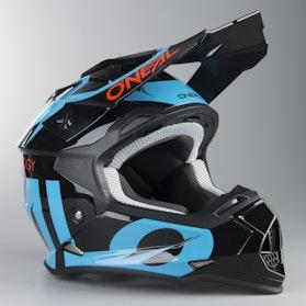 O'Neal 2-Series Slick MX Helmet Black-Blue