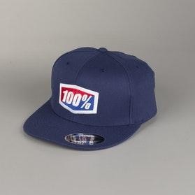 100% Essential Cap Navy
