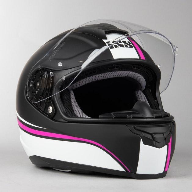 IXS 215 2.1 Integral Helmet Matte Black-White-Pink