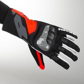 Spidi Rainshield Gloves Black-Red